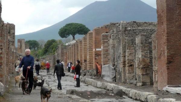 Pompeji in Not