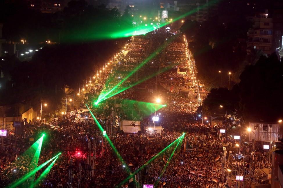 Anti Morsi protest