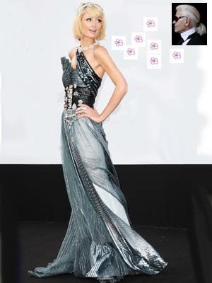 Paris Hilton; Lagerfeld