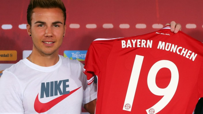 Mario Götze Nike Adidas FC Bayern München
