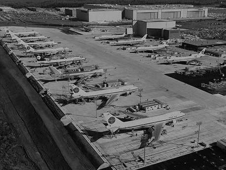 Boeing-Werk Everett ; AP