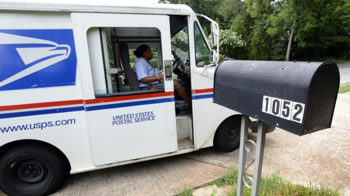 US Postal Service USPS FBI Überwachung