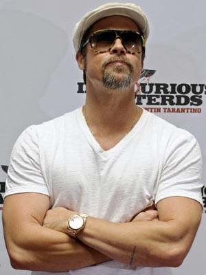 Brad Pitt, Schauspieler, AFP