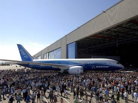 Vorstellung des 787-Modells ; dpa