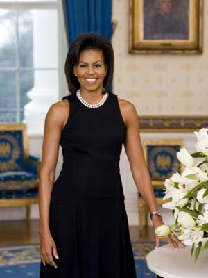 Michelle Obama, Amerika, First Lady, AFP