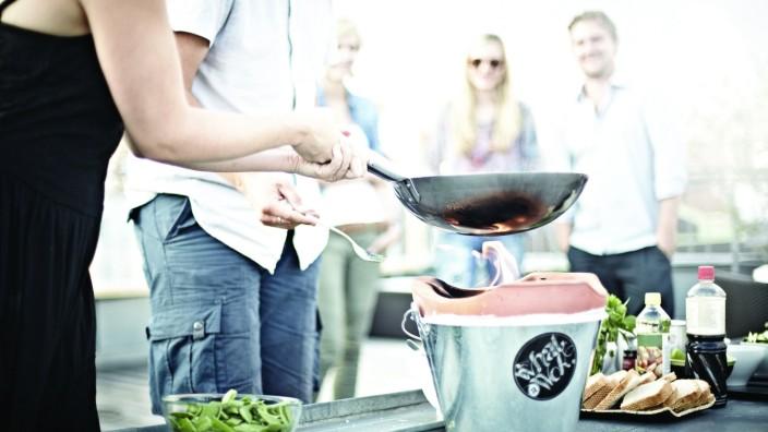 What a Wok: Grill-Wok im Test