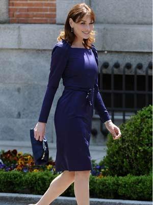 Carla Bruni, Frankreich, First Lady, Getty Images