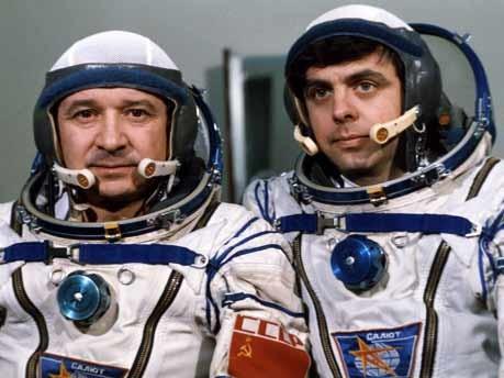 Leonid Kizim, Vladimir Solovyov, Astronauten, Raumfahrt, AFP