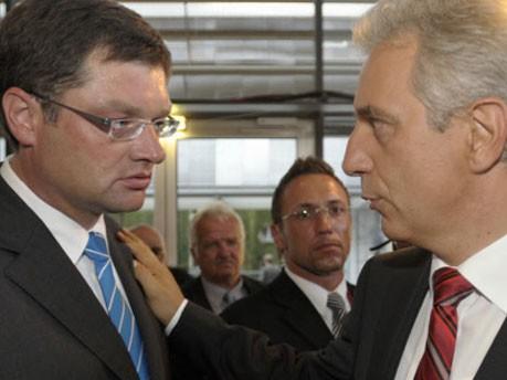 Zastrow, FDP; Tillich, CDU, ddp