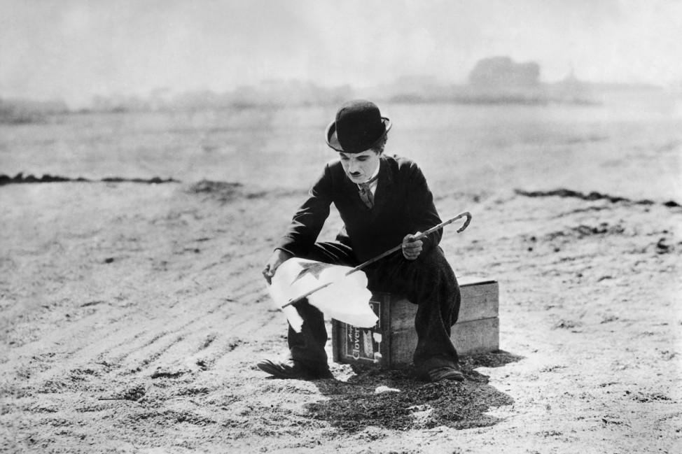 """Charles Chaplin in """"Zirkus"""", 1928"""