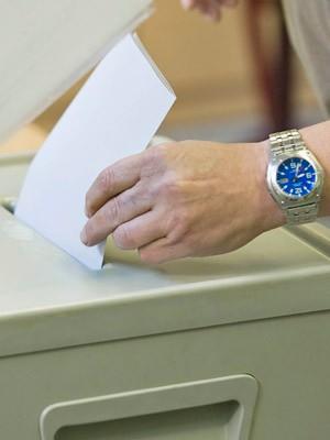 Wahlzettel, ddp