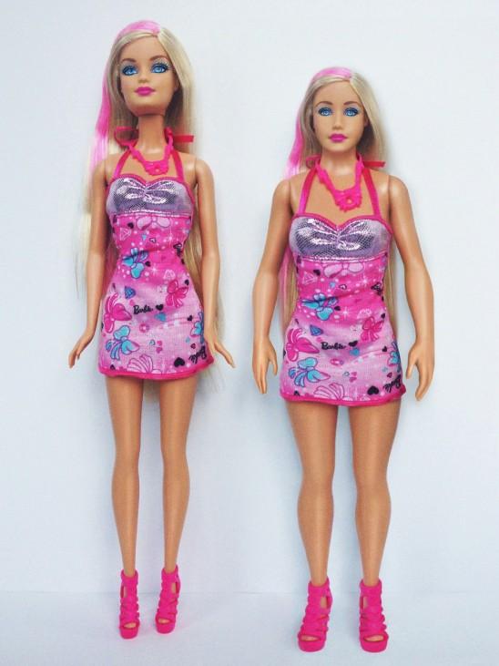 """""""Barbie""""-Projekt des US-Künstlers Nickolay Lamm"""
