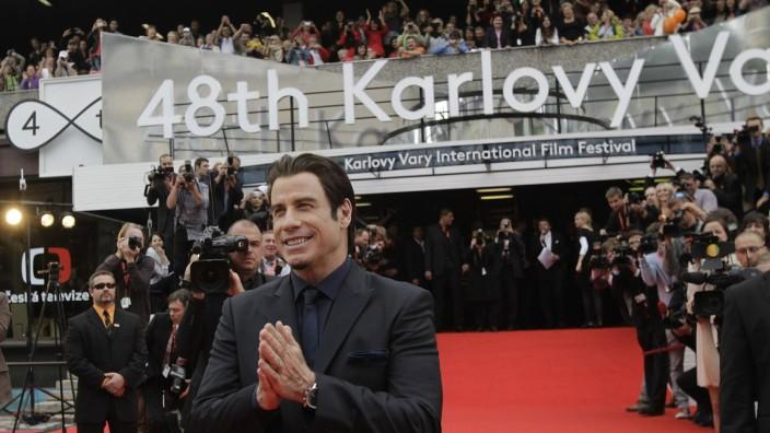 John Travolta beim 48. Internationalen Filmfestival in Karlovy Vary