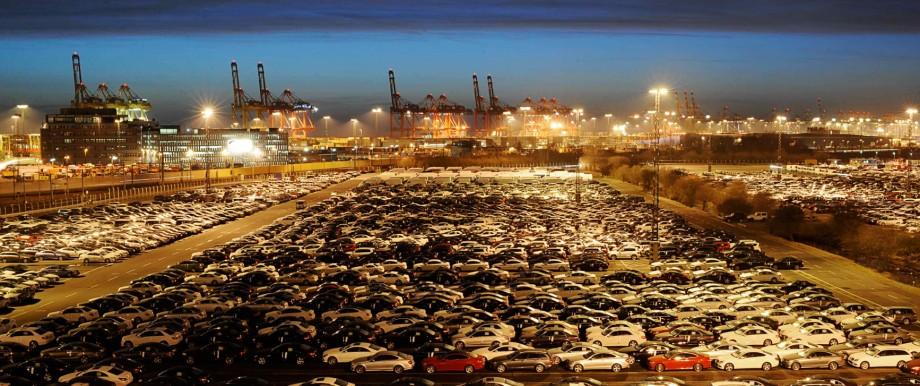 Handel, Freihandel, Hafen Bremerhaven Mercedes