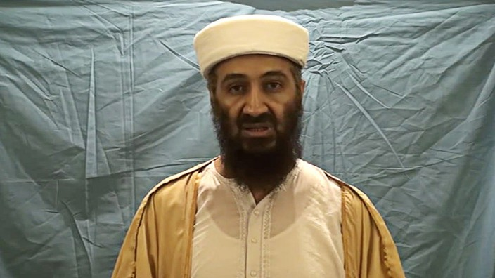 US Department of Defense releases videos of Osama bin Laden.
