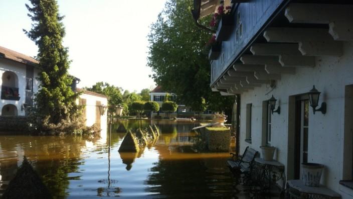 Altholz Hochwasser Deutschland