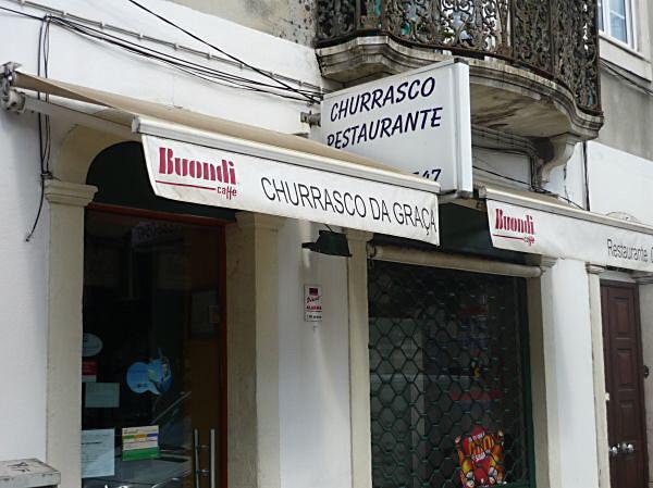 Lissabon Spotted by Locals O Churrasco da Graça Restaurant