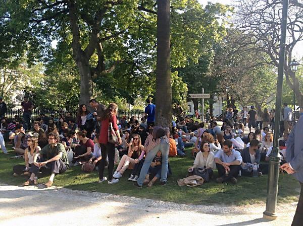 Lissabon Jardim da Estrela Out Jazz Spotted by Locals