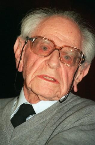 Karl Raimund Popper, 1993