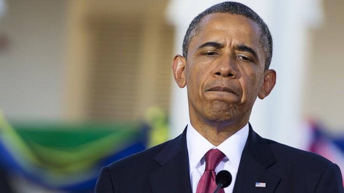 Barack Obama NSA Prism Internet-Überwachung