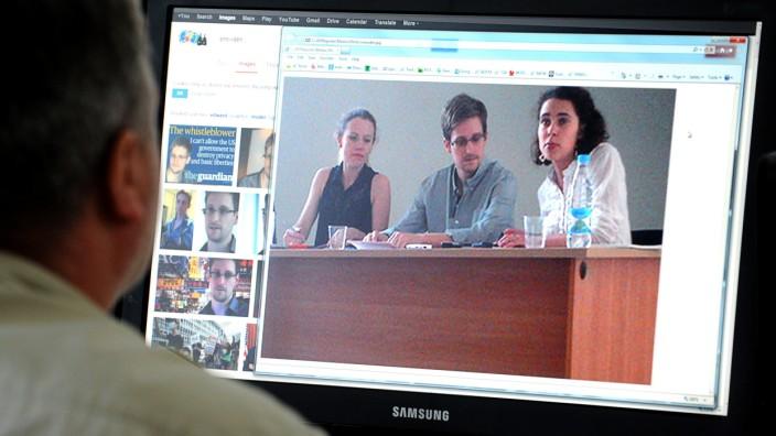 Edward Snowden Flughafen Moskau Human Rights Watch