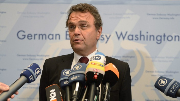 German Interior Minister Hans-Peter Friedrich press conference in