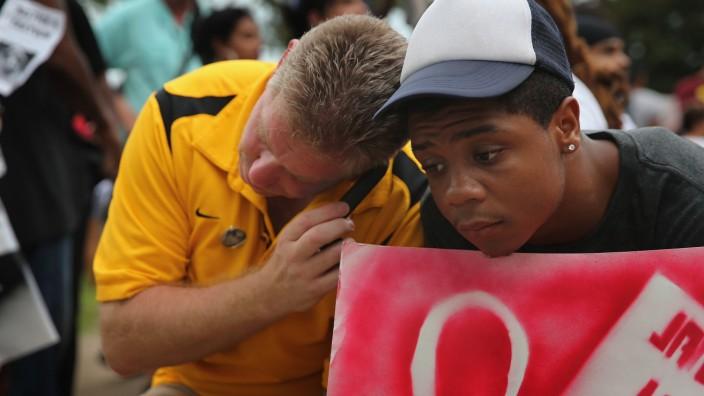 George Zimmerman Freispruch Trayvon Martin USA Florida Waffengesetze Selbstverteidigung