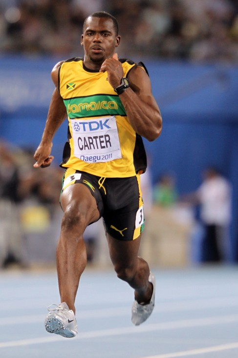 (FILE) Jamaican Sprinter Nesta Carter Reported To Have Failed Drugs Test