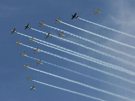 Verbreitete Warbirds sind unter anderem die North American P-51, Chance Vought F4U oder die Supermarine Spitfire.