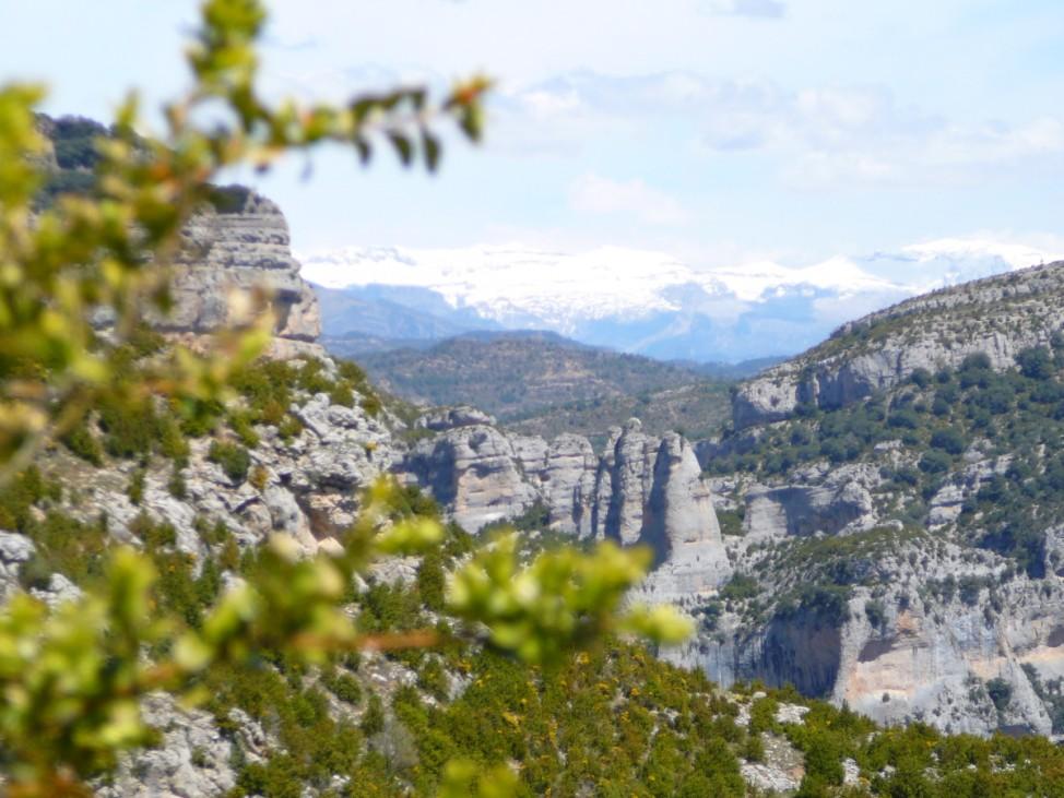 Sierra de Guara Pyrenäen Huesca Spanien