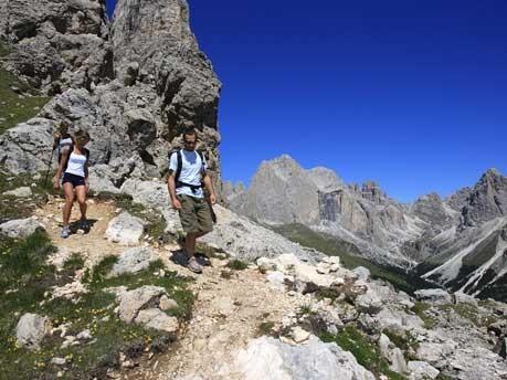 Trekking im Trentino, Ralf Brunel/Fotoarchiv ApT Val di Fassa