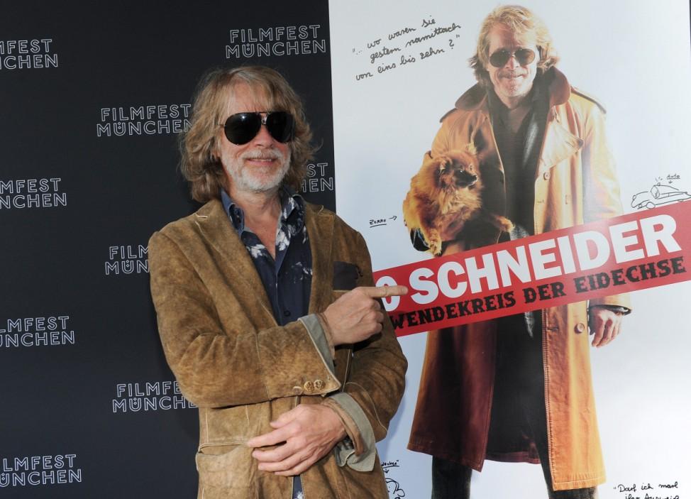 Filmfest München - Helge Schneider stellt '00 Schneider' vor