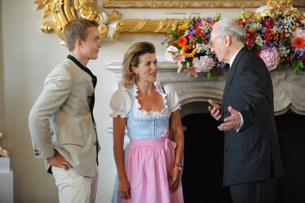 Geburtstagsempfang Herzog Franz von Bayern