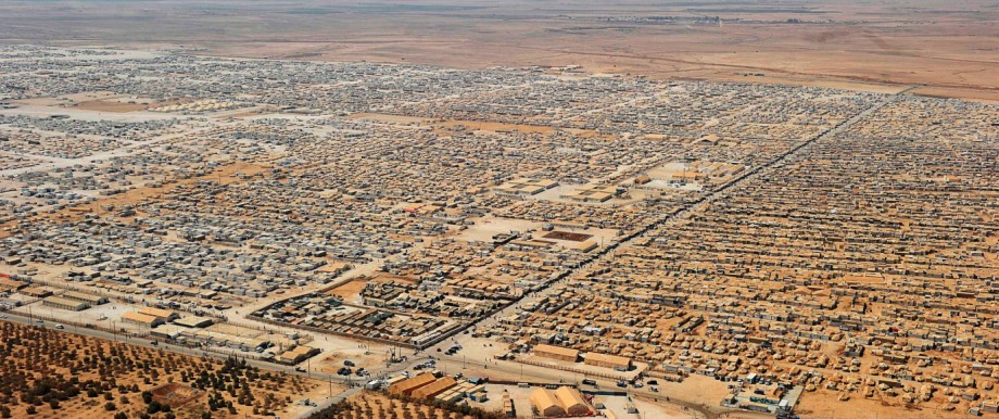 Syrien Jordanien Flüchtlingslager Flüchtlinge Saatari