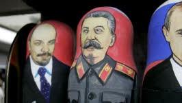 """Karikatur hitler stalin pakt """"Abschaum der"""