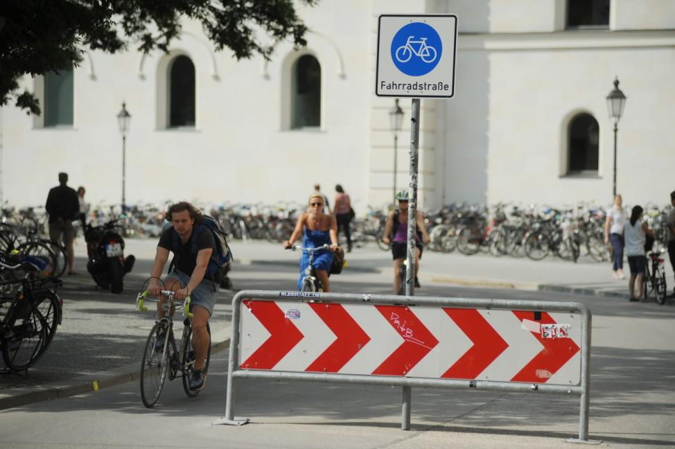 Sicherste Verkehrsmittel Fahrrad