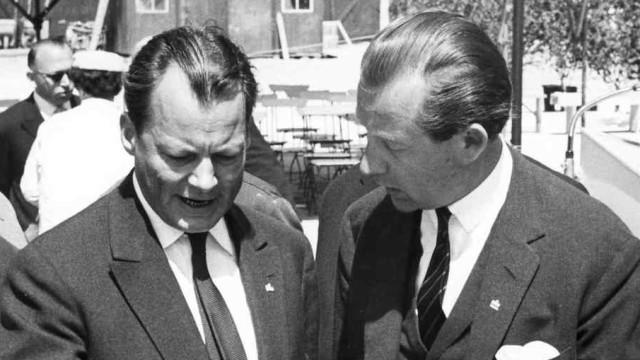 """""""Berliner Morgenpost"""" Axel Springer Willy Brandt"""