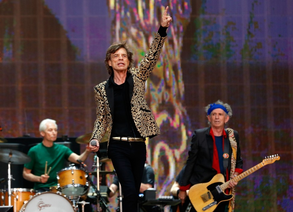 Rolling Stones Hyde Park London Mick Jagger