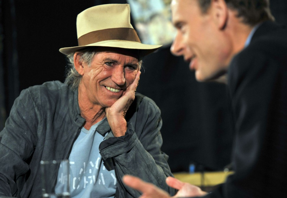 Keith Richards 2010 Marr Show BBC London Rolling Stones