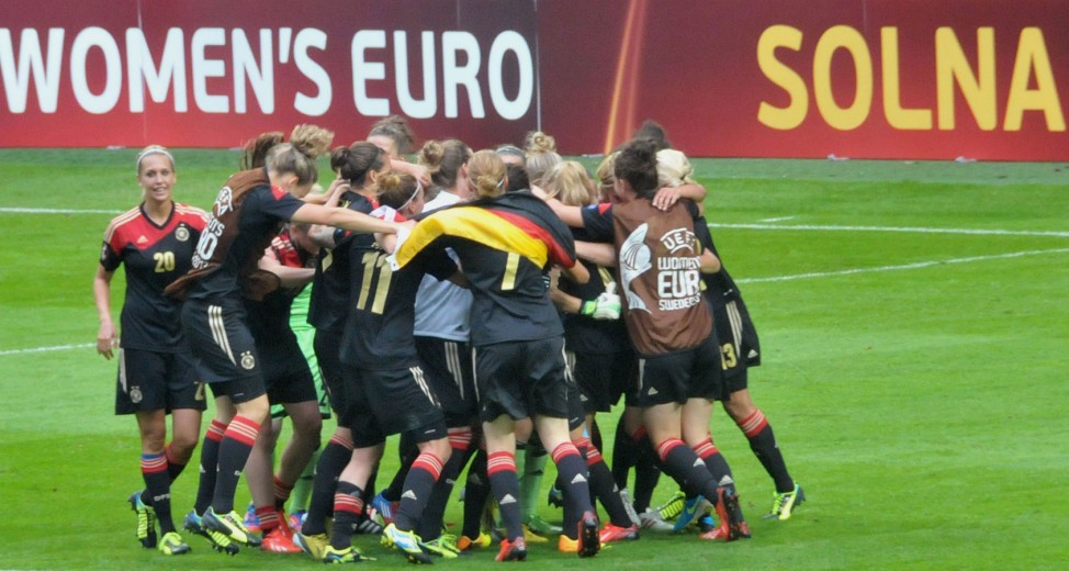 Frauen-EM-Finale Deutschland - Norwegen