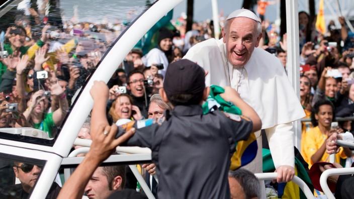 Papst Franziskus Weltjugendtag Copacabana