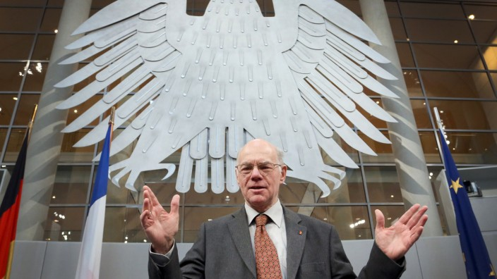 Norbert Lammert Bundestagspräsident Plagiat Plagiatsvorwürfe Doktorarbeit
