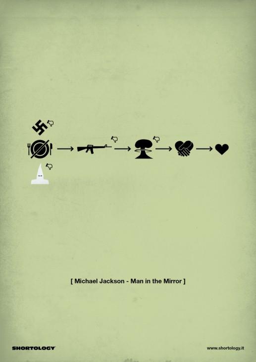 Shortology Michael Jackson Men in the Mirror