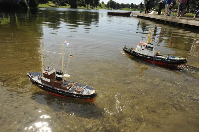 Modellbootregatta im Münchner Olympiapark, 2009