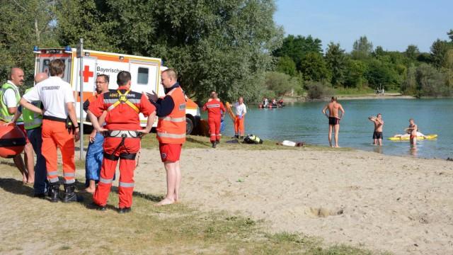 Bruck: Toedlicher Badeunfall am Pucher Meer