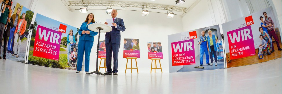 Wahlkampagne SPD