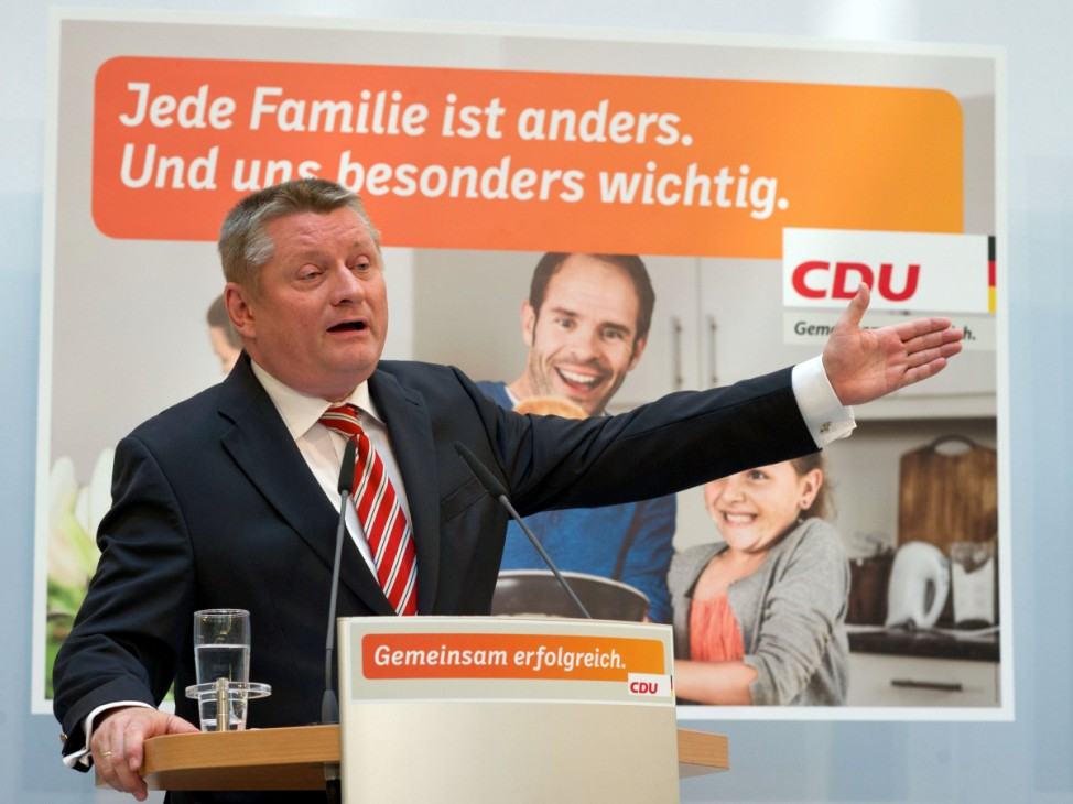 Vorstellung Wahlplakate CDU