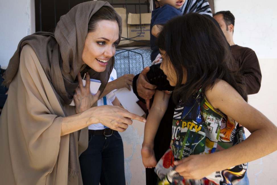 Angelina Jolie Syrien