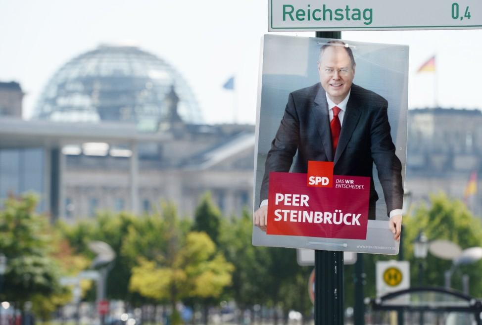 Wahlplakate zur Bundestagswahl 2013 in Berlin