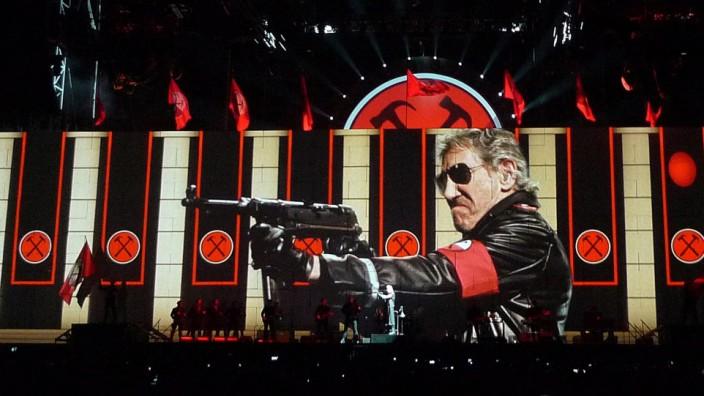 """Roger Waters, Mitbegründer von Pink Floyd, """"The Wall Live"""""""